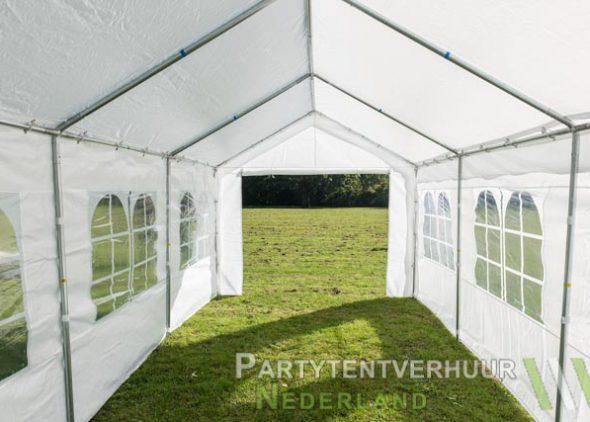 Partytent 3x6 meter binnenkant huren - Partytentverhuur Utrecht