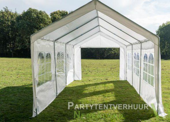 Partytent 3x6 meter open huren - Partytentverhuur Utrecht