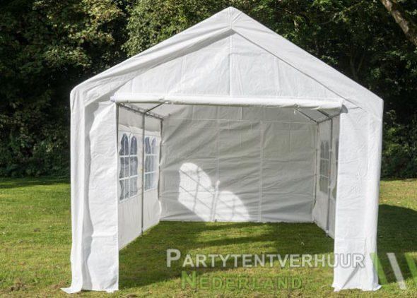 Partytent 3x6 meter voorkant huren - Partytentverhuur Utrecht