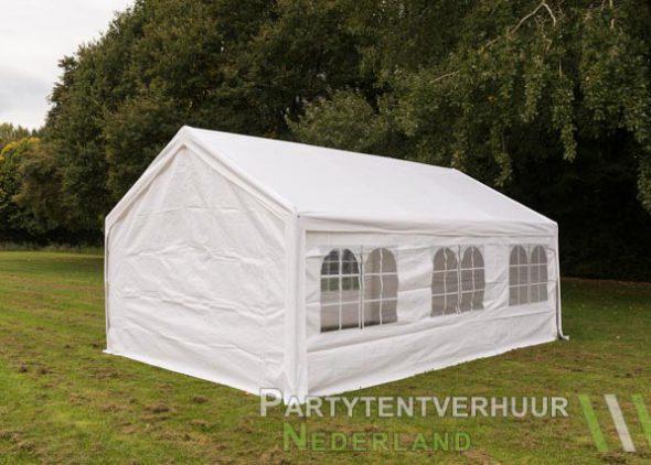 Partytent 4x6 meter achterkant huren - Partytentverhuur Utrecht