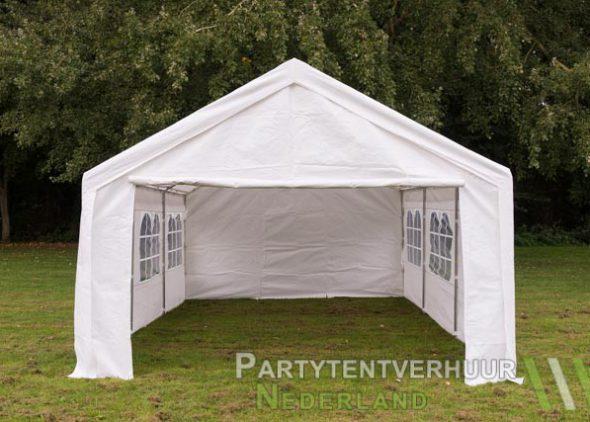 Partytent 4x6 meter voorkant huren - Partytentverhuur Utrecht