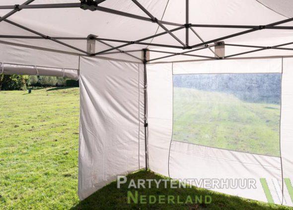 Binnenkant Easy Up 3x4,5 meter huren - Partytentverhuur Utrecht