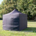 Easy up tent 3x3 meter voorkant huren - Partytentverhuur Utrecht