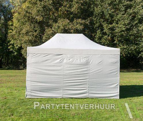 Easy up tent 3x4,5 meter achterkant huren - Partytentverhuur Utrecht