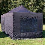 Easy up tent 3x6 meter achterkant huren - Partytentverhuur Utrecht