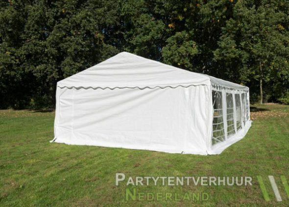 Partytent 5x10 meter achterkant huren - Partytentverhuur Utrecht