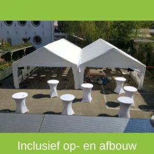 Partytent 10x10 huren - Partytentverhuur Utrecht