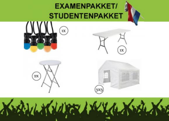 pakket voor studenten huren examens - Utrecht