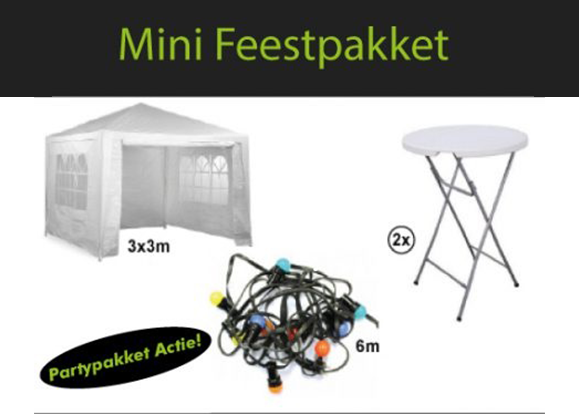 Mini feestpakket