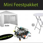 Mini feestpakket