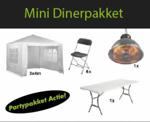 Mini dinerpakket
